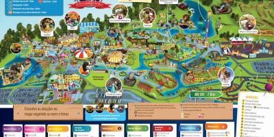 Mapa de Beto Carrero World